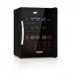 Klarstein Beersafe XL Onyx, chladnička na nápoje, A++, LED, kovové rošty, sklenené dvere