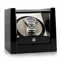Klarstein Cannes, naťahovač na hodinky, 1 hodinky, čierny klavírny lak