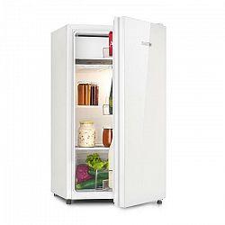 Klarstein Luminance Frost, chladnička, 91 l, A+, chladiaci priečinok na zeleninu, 2 sklenené police, biela
