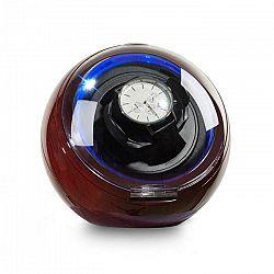 Klarstein St. Gallen Deux, naťahovač na hodinky, 4 režimy, LED, palisandrový vzhľad
