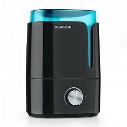 Klarstein Stavanger, zvlhčovač vzduchu, aromatická funkcia, ultrazvuk, 3.5 l, čierny/tyrkysový