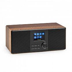 Auna Connect 120, internetové rádio, bluetooth, WLAN, DAB/DAB+, FM, RDS, USB, AUX