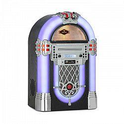 Auna Kentucky, jukebox, BT, FM rádio, USB, SD, MP3, CD prehrávač, biely