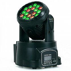 Beamz LED 108 Movinghead RGB, 12/4 kanály, DMX