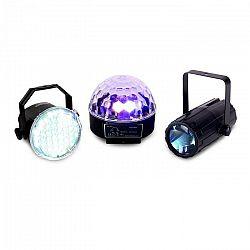 Beamz Light Package 1, osvetľovací set, 3 časti