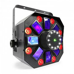 Beamz MultiAcis IV LED derby, laser, wash a strobe DMX-/stand-alone režim