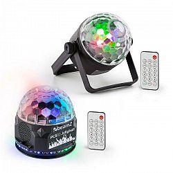 Beamz PLS35, sada V2, Jellyball, 4 x 3 W LED diódy, PLS15 Strobe LED stroboskop