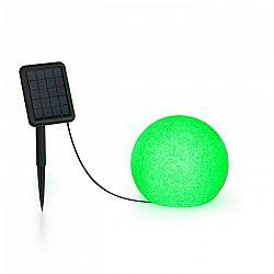 Blumfeldt Shinestone Solar 20, guľová lampa, solárny panel, Ø 20 cm, RGB-LED, IP68, akumulátor