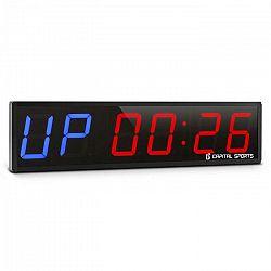 Capital Sports Timer 6, športové digitálne hodiny so stopkami a 6 číslicami
