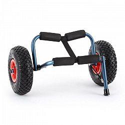 DURAMAXX Sea Mule BL, modrý, vozík na kajak, podpera, hliník, eloxovaný, skladací