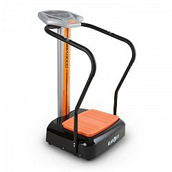 KLARFIT Goodvibe, vibračný stroj na cvičenie s tréningovým počítačom, meračom pulzu, kolieskami