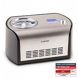 Klarstein Snowberry & Choc, 1,2 l, zariadenie na výrobu zmrzliny, funkcia udržania chladu, nerezová oceľ