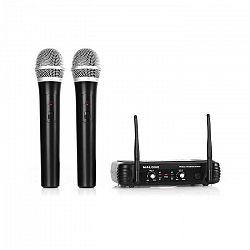 Malone UHF-250 Duo1, Bezdrôtový mikrofónový set, 2 kanály