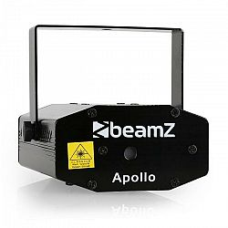 Mini laser BeamzApollo, multipoint efekt, červeno-zelený
