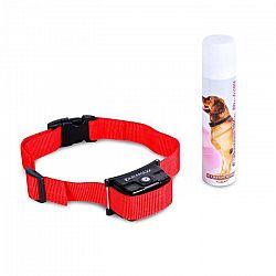 OneConcept Balu, výcvikový obojok pre psy, vrátane spreja, červený