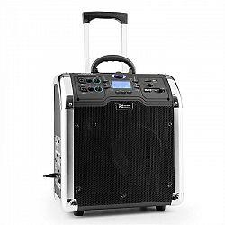 Power Dynamics PA-203, prenosný zvukový systém, bluetooth, USB, SD, 2 x AUX, FM, akumulátor